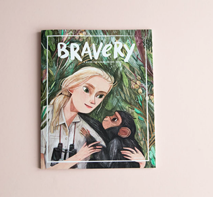 The first issue, with a heroic Jane Goodall on the cover!!