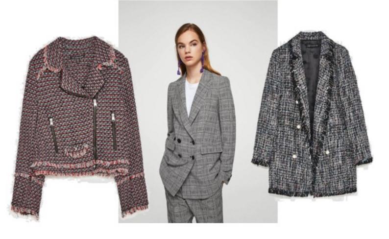 Zara pink jacket,  Mango jacket ,  Zara fringed jacket