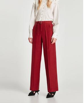 Zara Wide Trousers with Belt