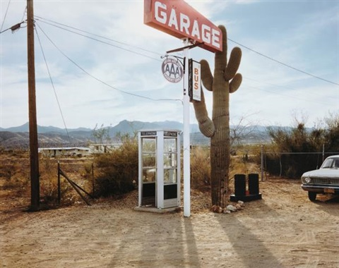 U.S. 93, Wikieup, Arizona , by  Stephen Shore