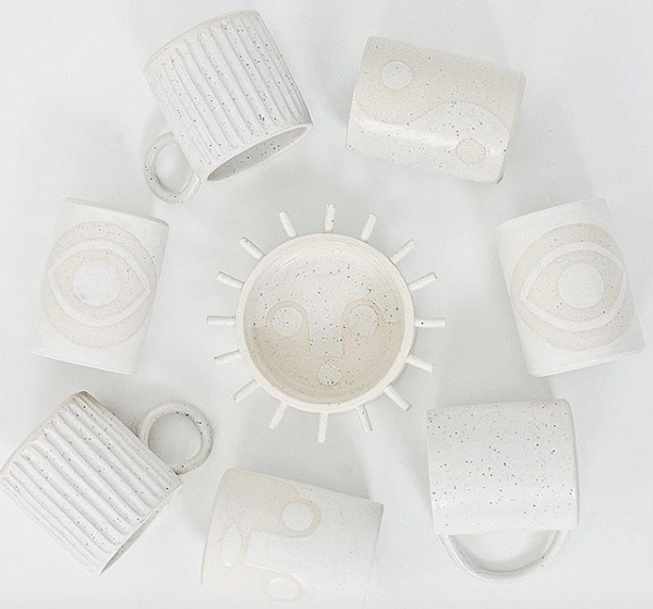 Meha Magic ceramics are also available at  Penelope's  in Chicago.