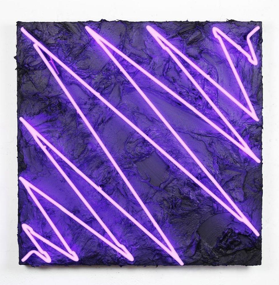 Dan Alva, You Zig I Zag, 2016 Avant Gallery