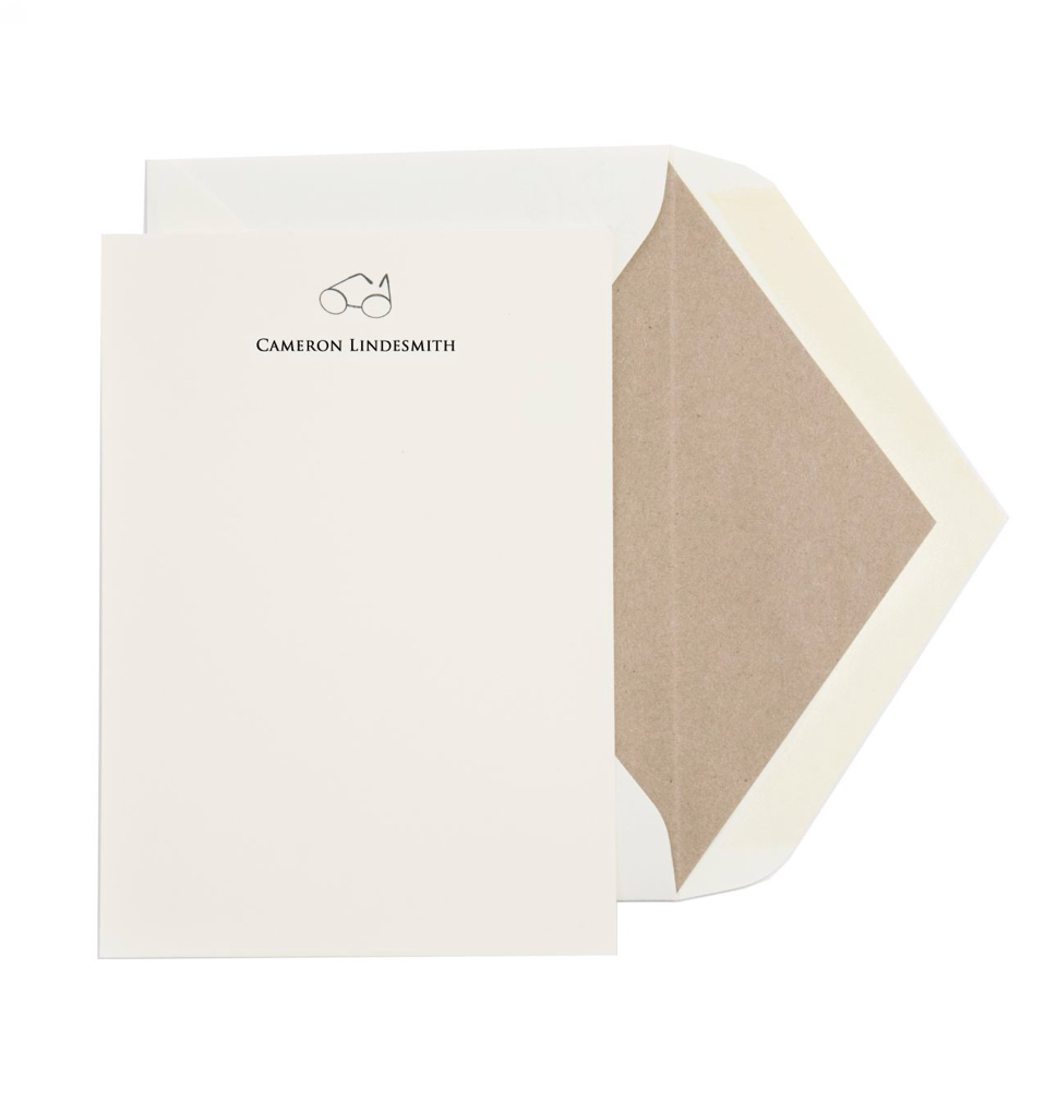 More classic- Personalized Handsome Notes/ Dempsey & Carroll - merely $825 for a set of 100