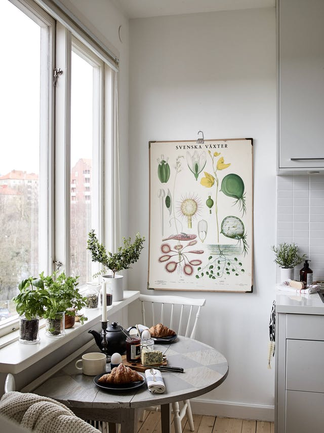 Keeping it simple- Image via Apartment Therapy
