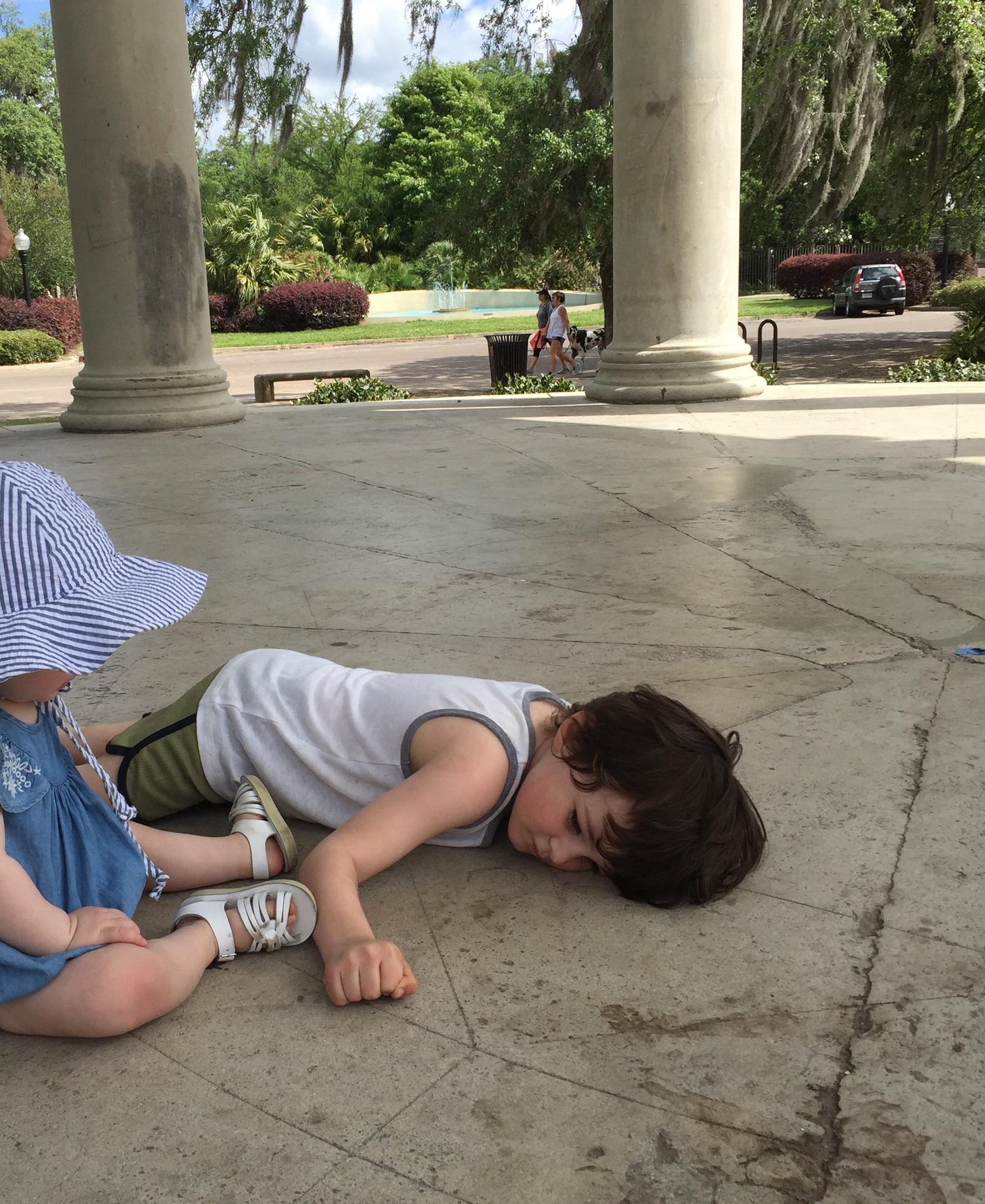 City park rest period
