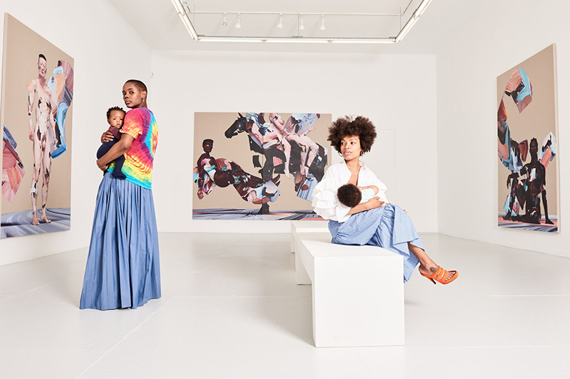 Cool moms Elise Peterson and Lizzy Okpo (via  Mother Mag )