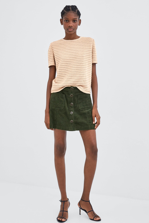 Zara Chenille Tshirt