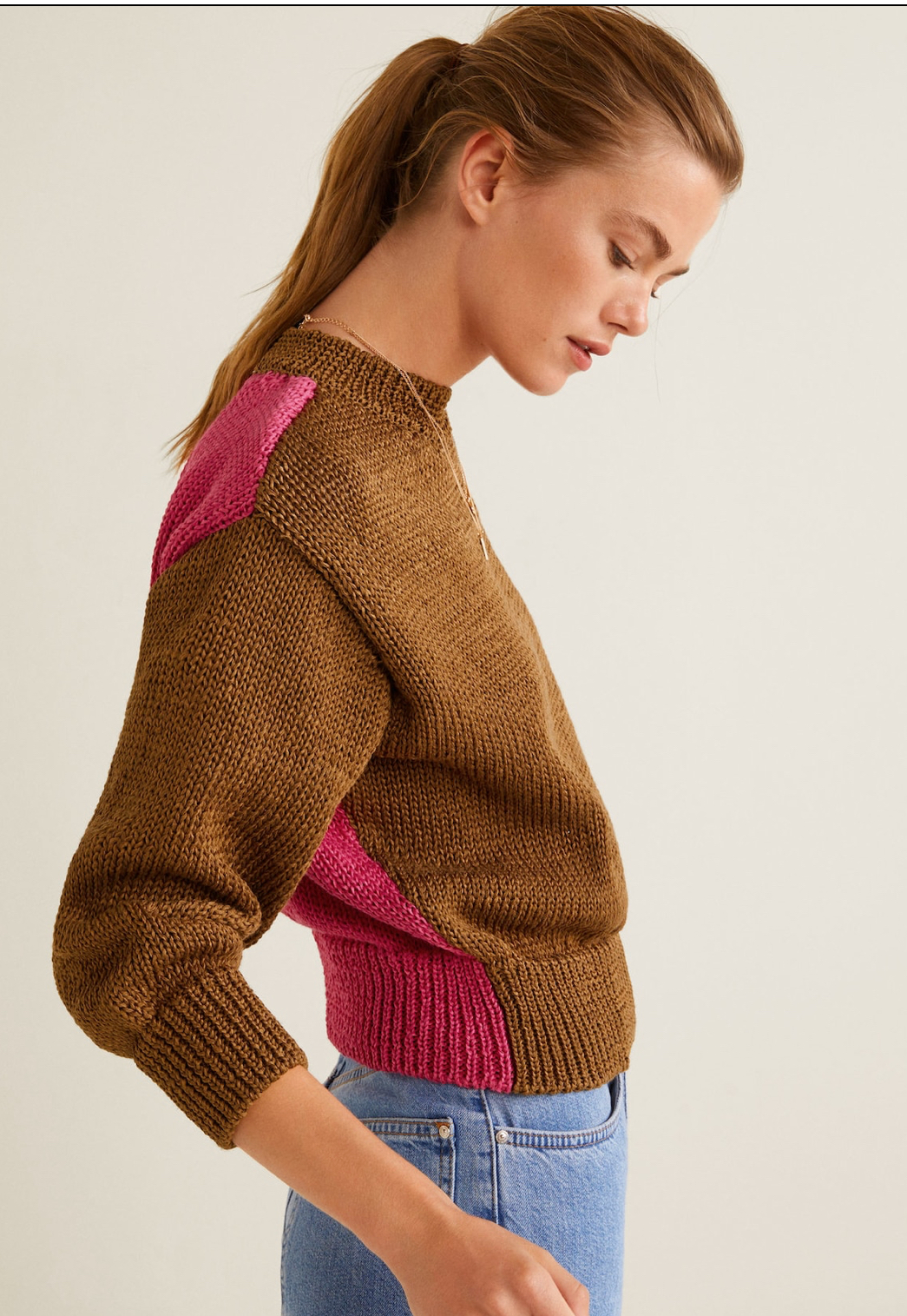 Mango Bi-color sweater