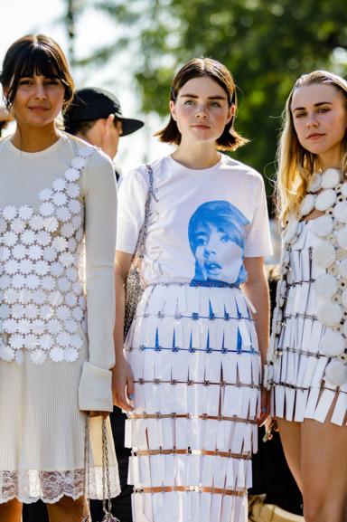 Cool person at Paris Fashion Week '18