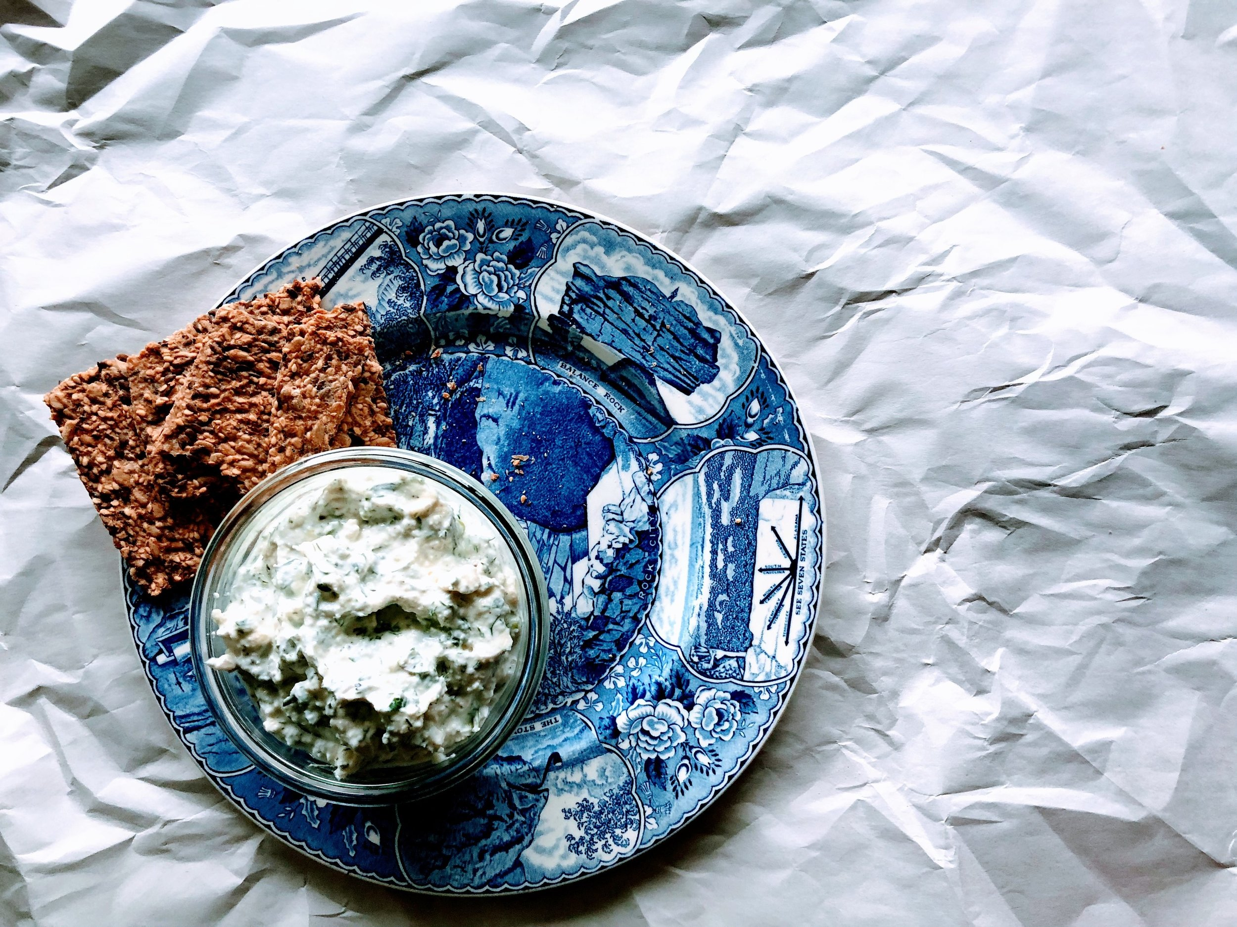 Shallot + Herb Yogurt Spread