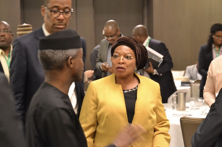 VP Prof Yemi Osinabjo and Chief Temitope Ajayi SVNED.jpg