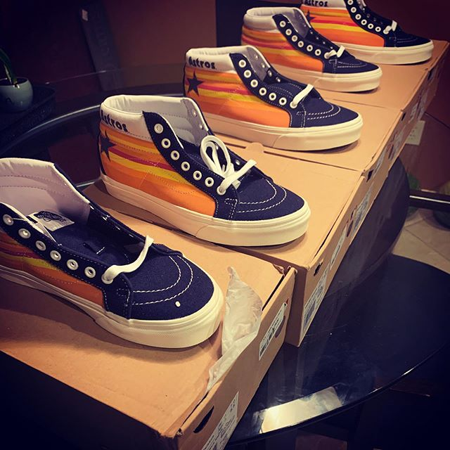 Houston Astros Vans
