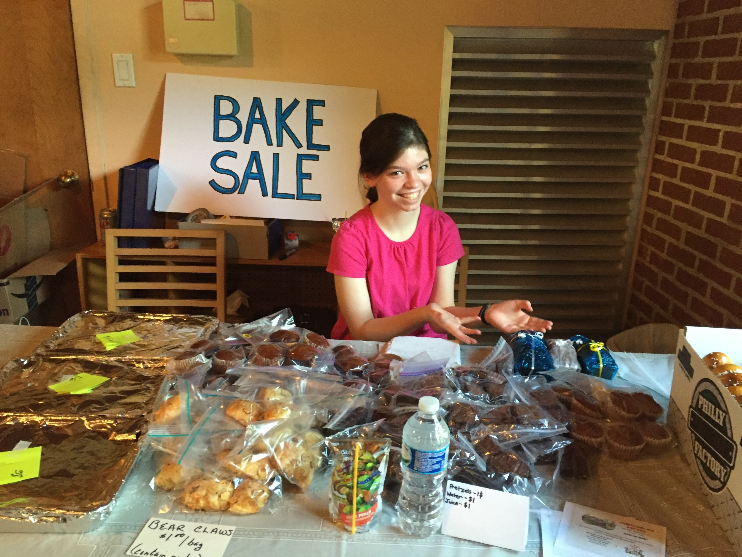 Yard, Craft, and Bake Sales to Support Missions