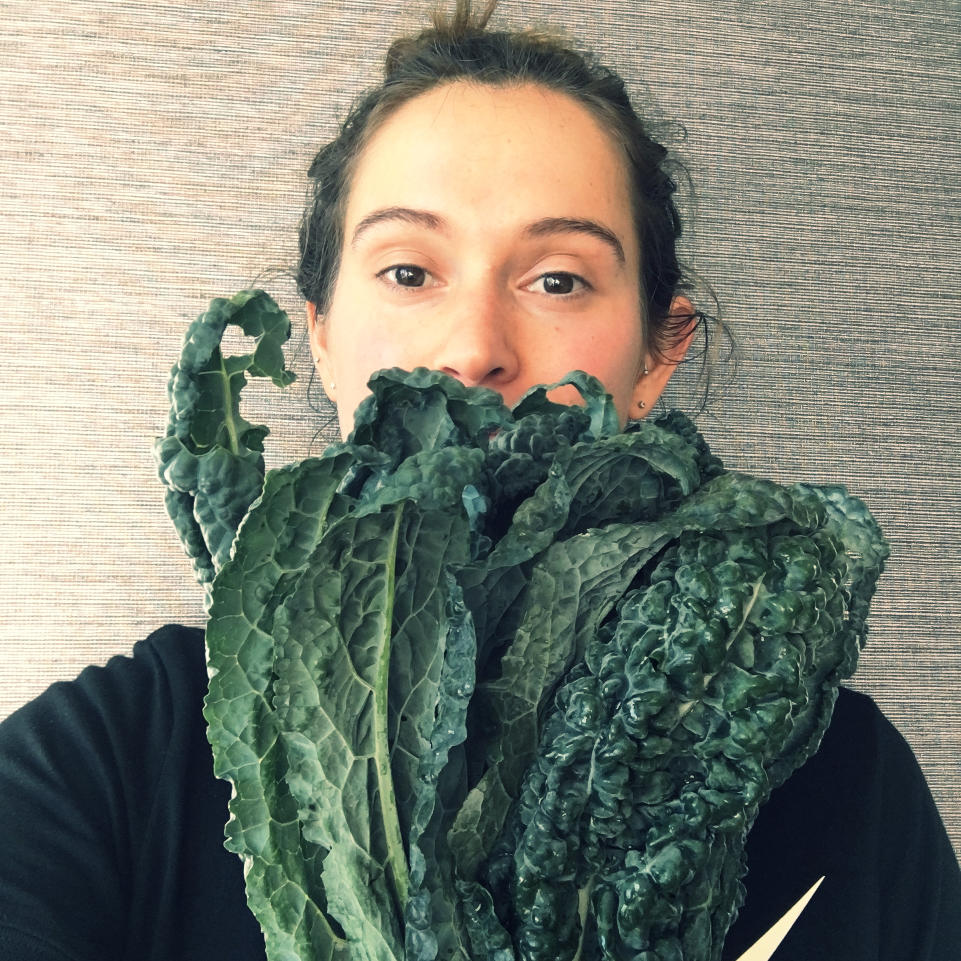 Kale is one of my favourite, it tastes great with nearly everything.