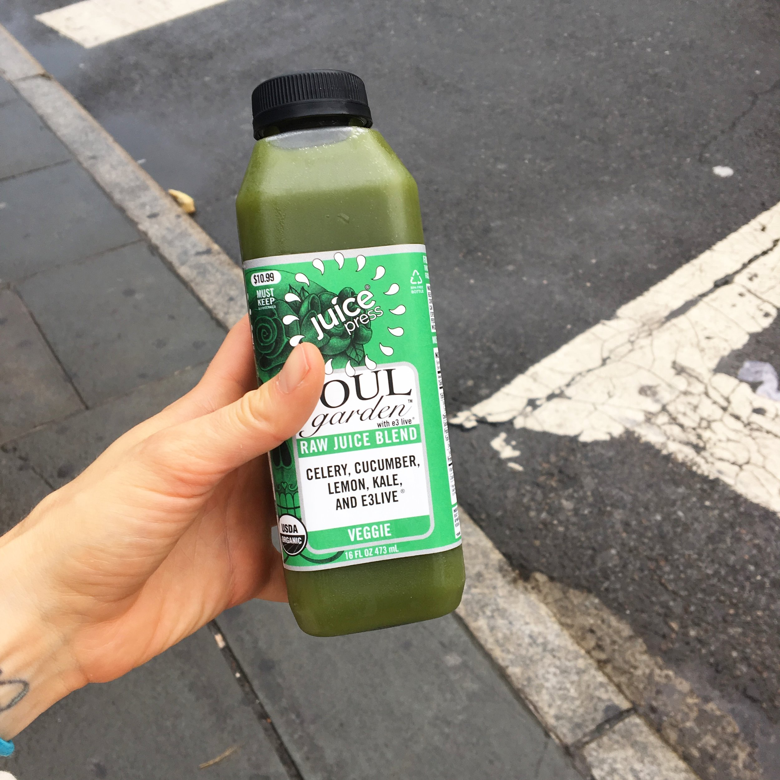 Grabbing a green juice out is also another reliable option, although not always budget friendly.