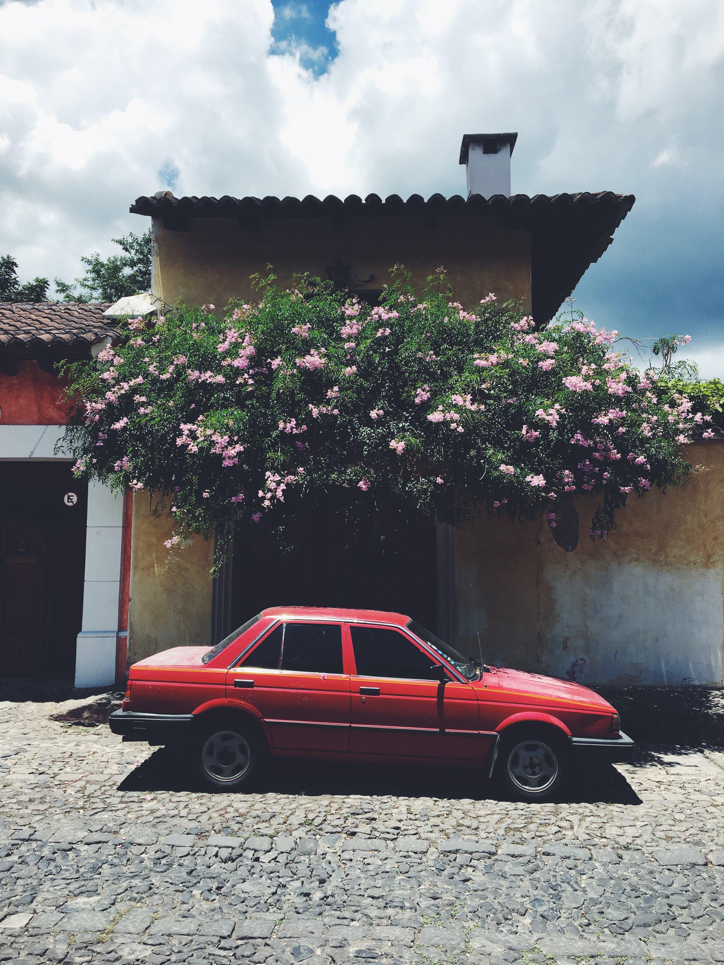May 2019 in Antigua, Guatemala.