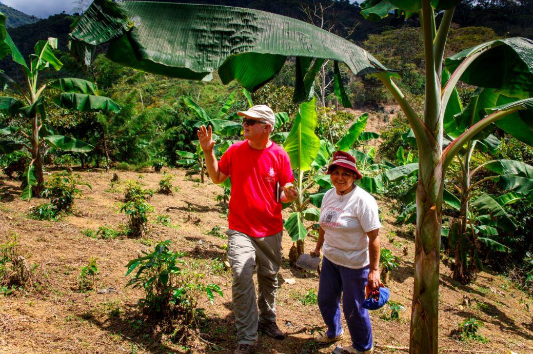 Bill (roaster)in Peru