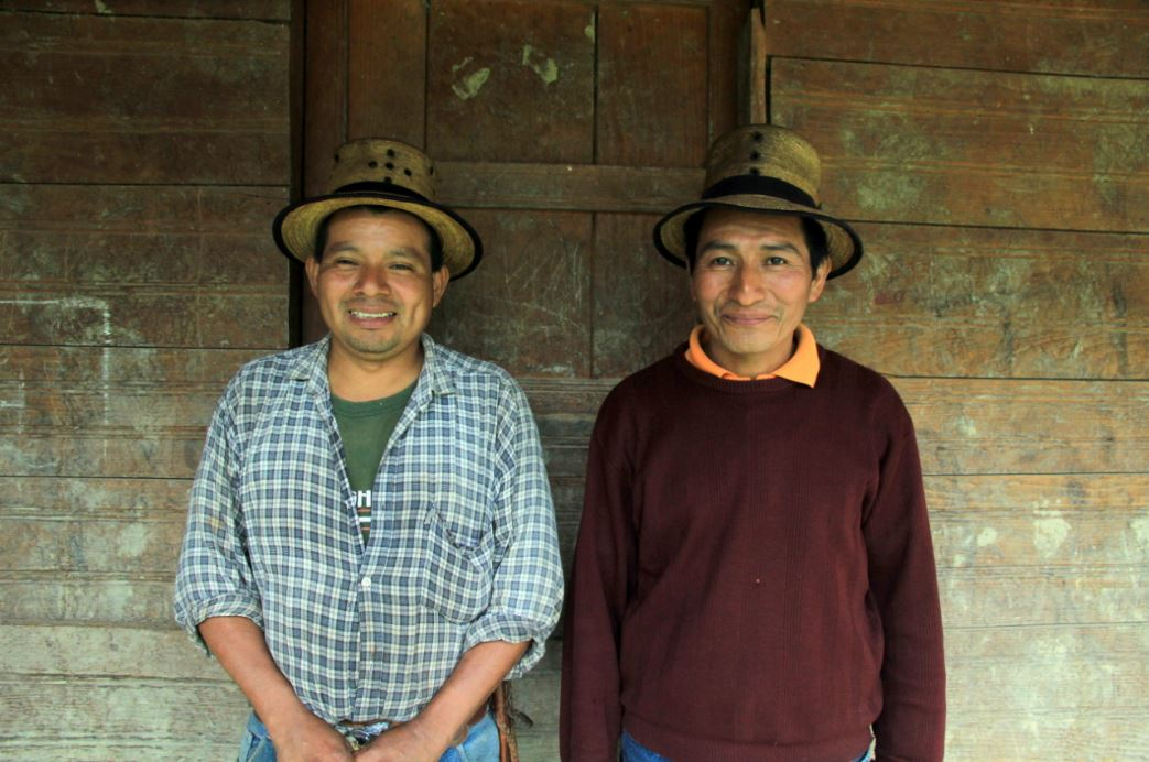Pedro and Pablo - our farmers in Guatemala