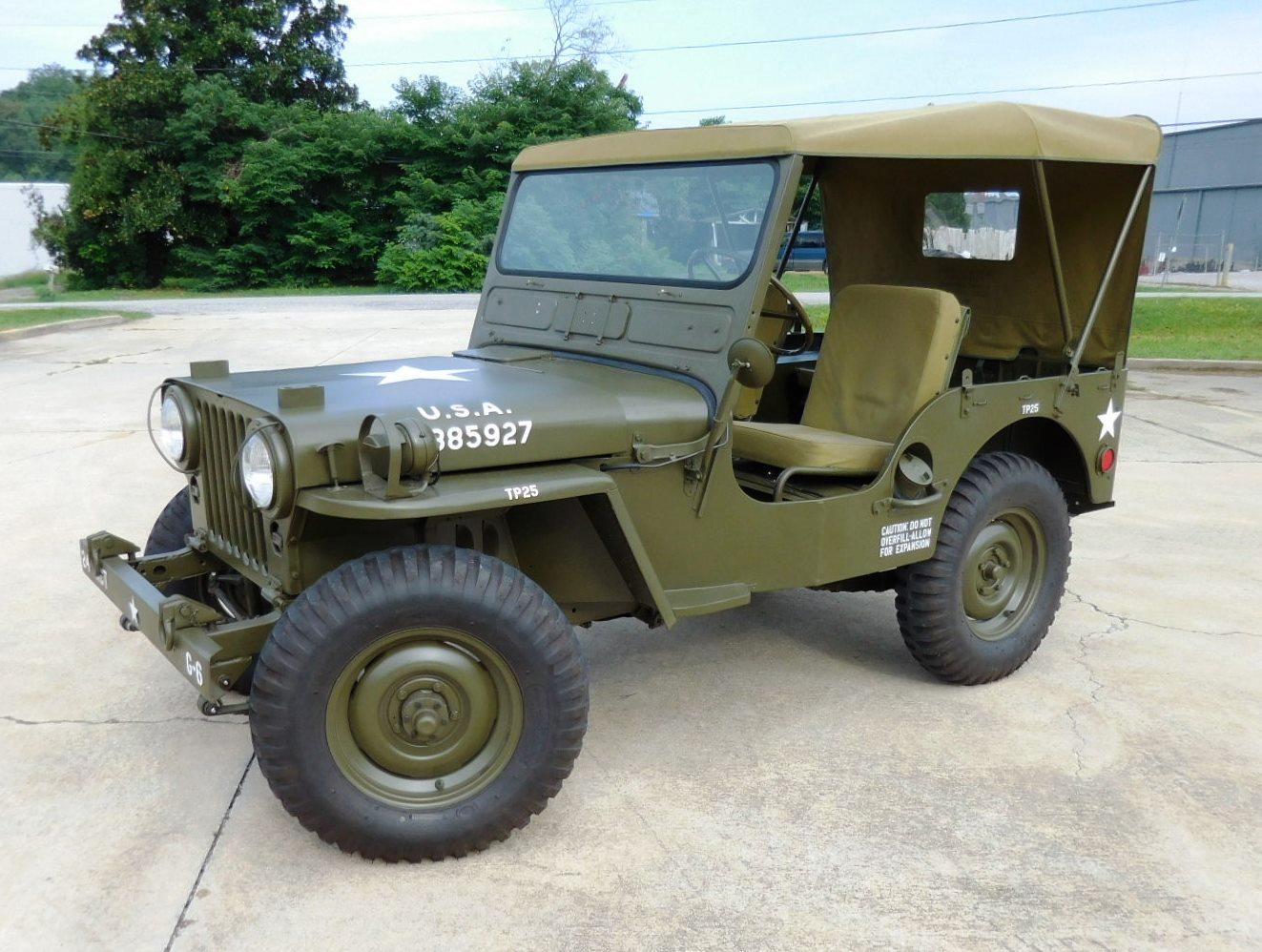 1952 Willys Army Jeep -