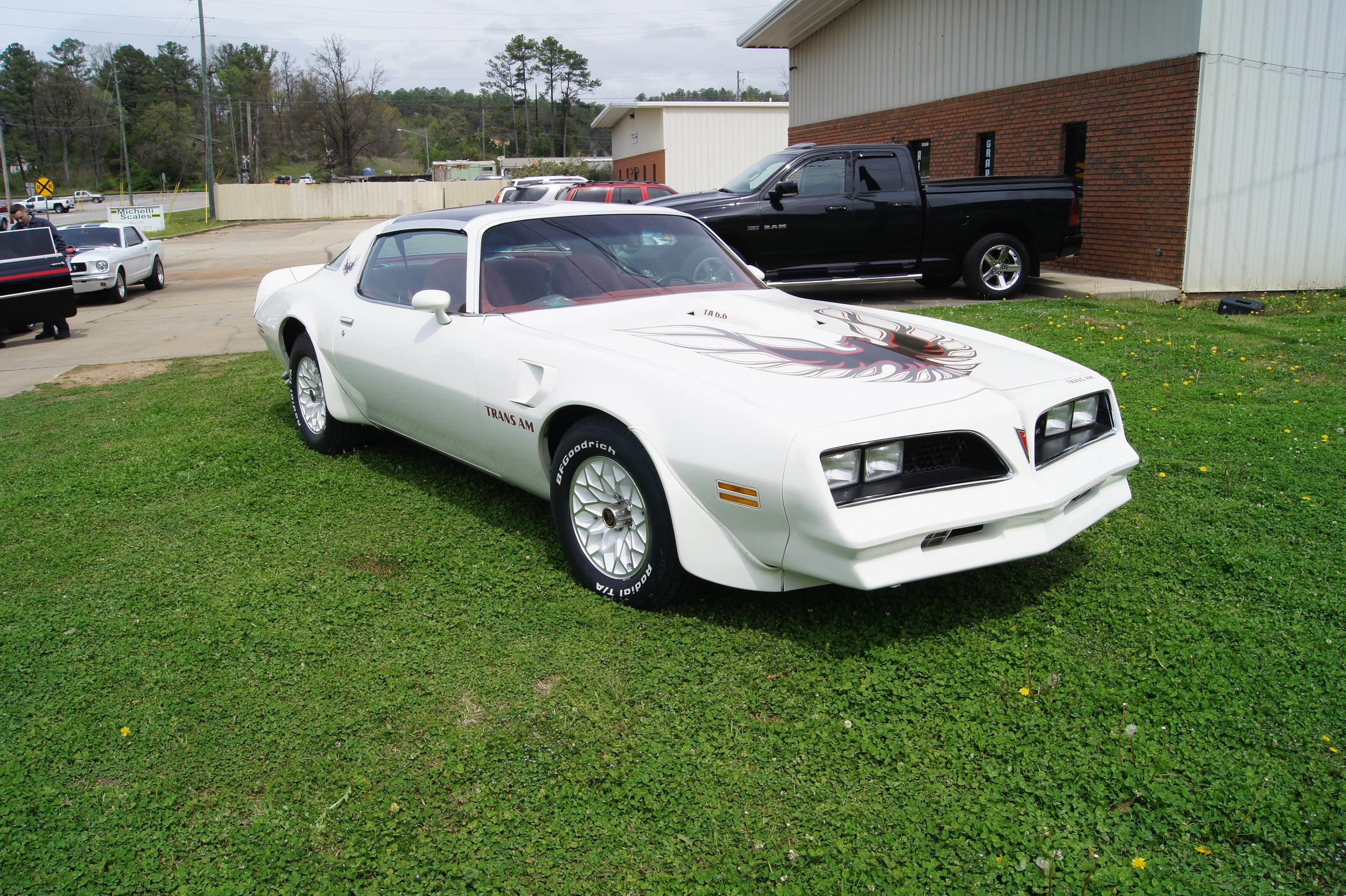 1977 White TransAm -