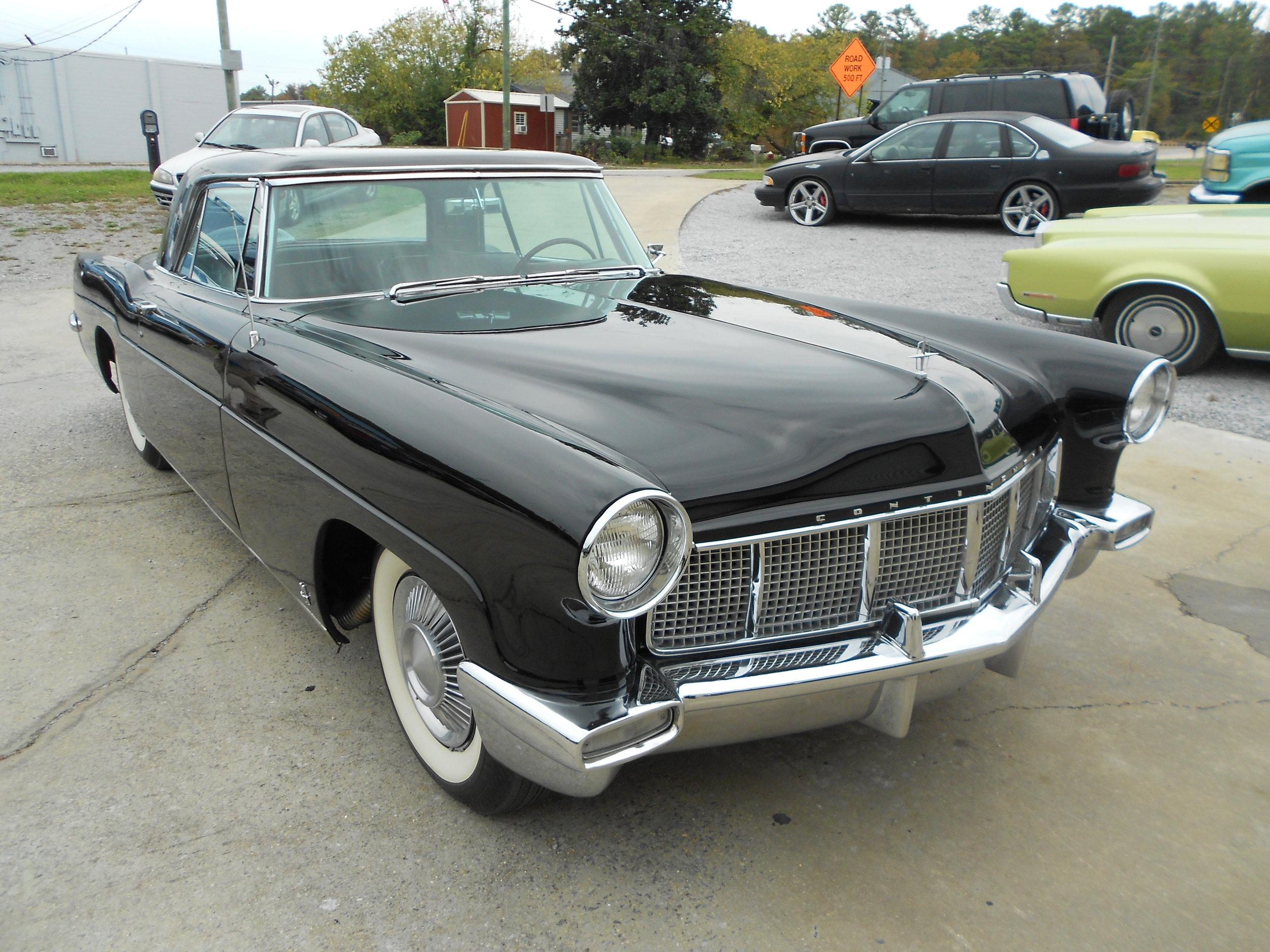 1957 mark II Lincoln -