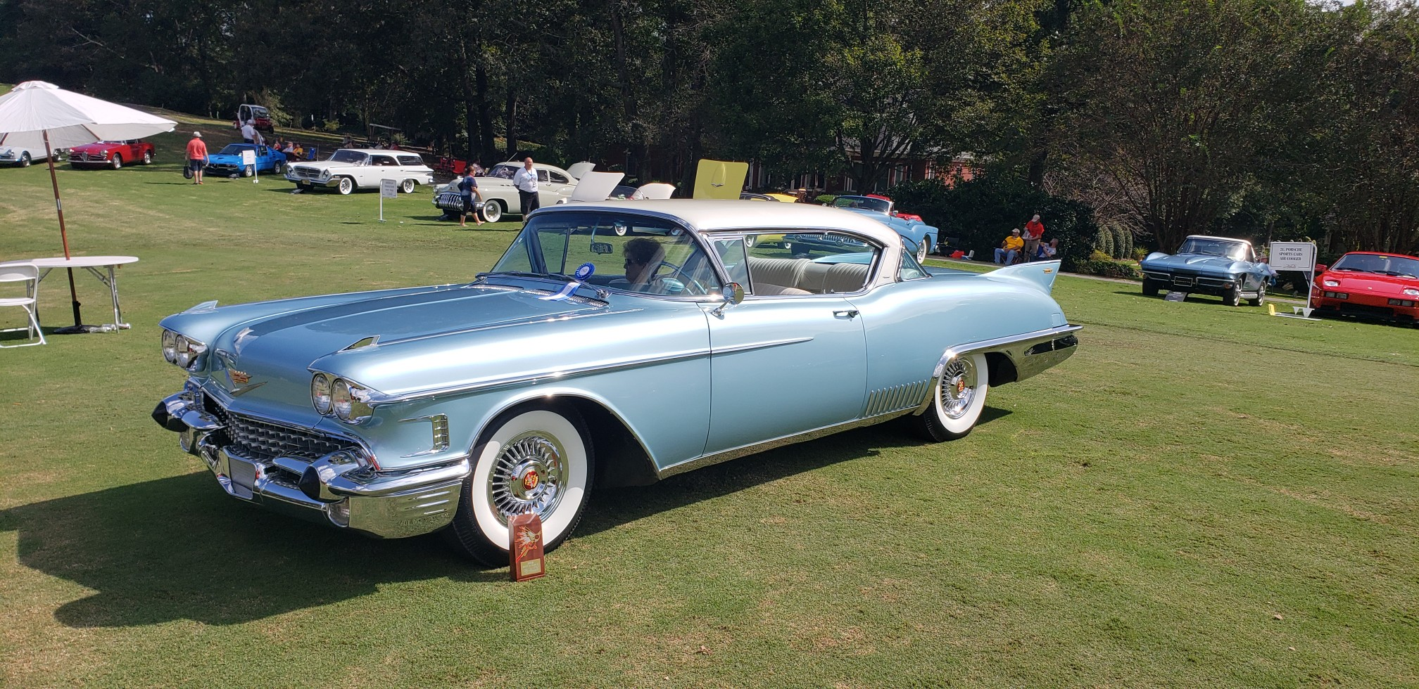 This 1958 Cadillac won 2018 Best in Class at the Atlanta Concours d'Elegance.