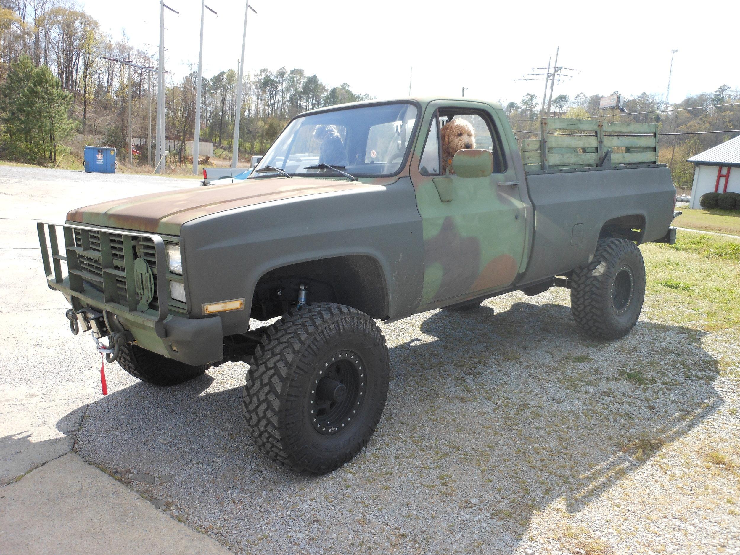 1984 Chevy Diesel Military PU -