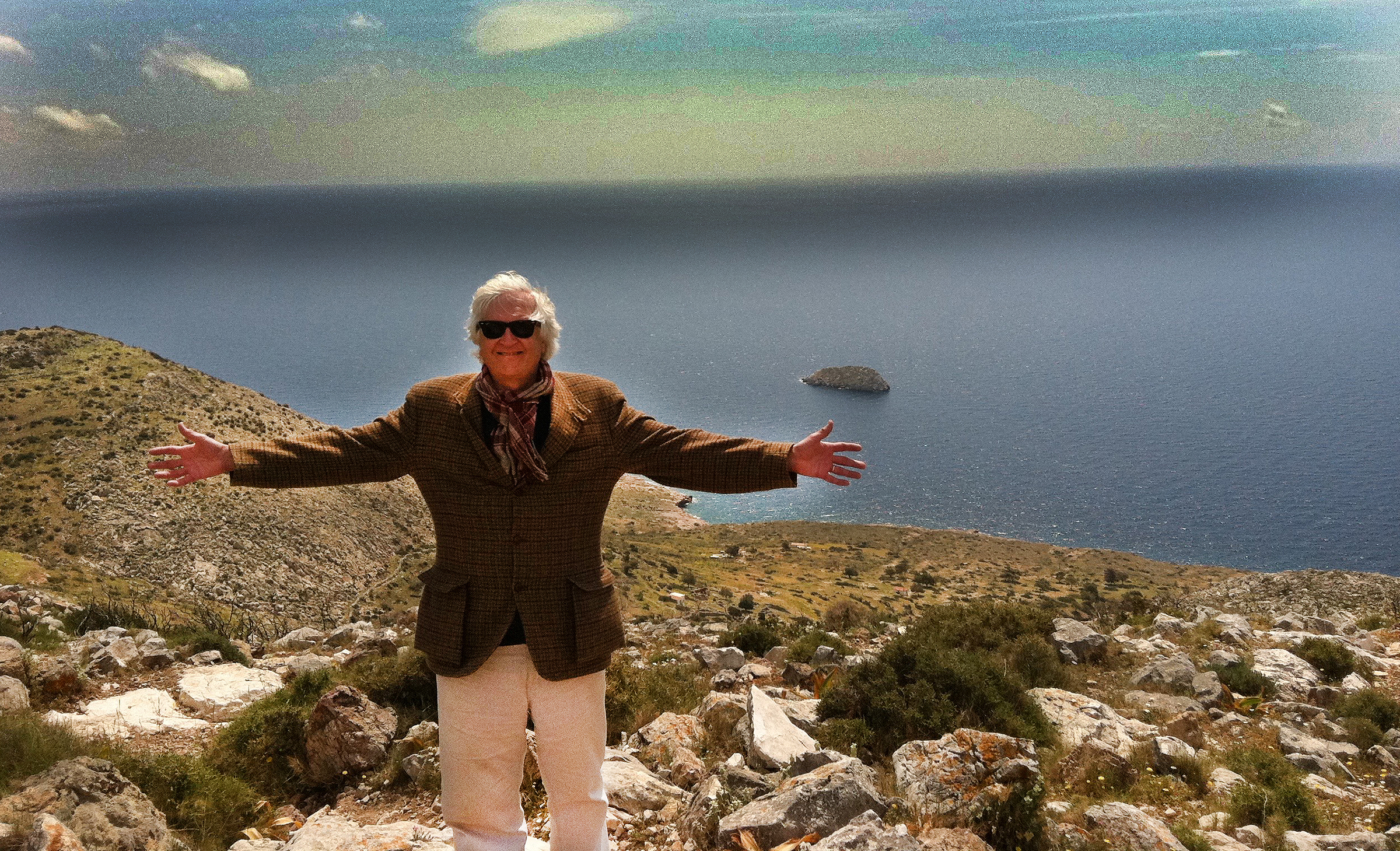 Big hug from Hydra, Greece.