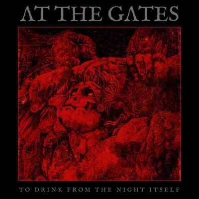 """Album Review: To Drink From The Night Itself by At The Gates -   Now lets get into some straight up DEATH METAL for a change, shall we? Specifically, Swedish melodic death metal.. its like death metal.. but spiced up a little but.. smoother… more fun.. like.. if standard death metal is a like a shot of espresso… melodic death metal is like a cappuccino. There's more to indulge in, it lasts longer, more to enjoy and savor.. but it just don't give you that punch in the throat like that brutal shot of wonderful espresso does when it wrecks havoc on your senses. Is this a knock against melodic death metal? Hell no, I just had to make a coffee reference.  At The Gates made a triumphant return to the metal world in 2011, after being on a hiatus for many years, probably sitting around in graveyards being all darkly Swedish and awesome; and apparently writing some ripping death metal grooves. Their """"comeback"""" album 'At War With Reality' was released to generally positive reviews and the fans were hyped the were back in the game spitting that rhythmic deadly fire. But, this record, 'To Drink From The Night Itself,' not only has an infinitely cooler, artwork, and thematic elements running through its veins.. it also is a musical achievement for the band as they continue to solidify their place as the reigning kings of melodic death metal.  You see, I must present this bias to you, I am not a HUGE fan of the melodic death stuff. Im an old school face-ripping death metal fan all the way. Relentless beating on the bongos? Bring it. Ferocious, rapid riffs with skin-melting solos lurking around every corner with a blowtorch? Check. Growls so guttural it sounds like the singer is spewing up primordial ooze? Please. Can't understand a word?? Even better! You get it. The melodic stuff is only more of my cup of tea (or blood, or night, if you're At The Gates in 2018) if its really done RIGHT. """"Hold my beer,"""" vocalist and founding member Tomas Lindberg says to me.  'To Drink From The N"""
