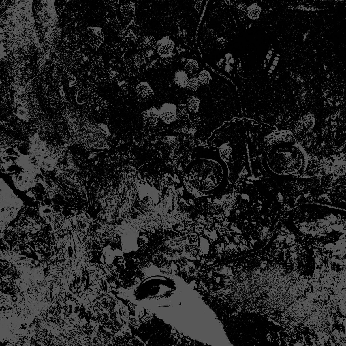 """Split by Primitive Man & Unearthly Trance -  I am quite divisive on the subject of splits. Pun very intended. Yes, already. But, seriously, I am. I am much more of an album kinda dude (shockingly). Even when a band releases a single, nine times out of ten I store it in the back of my convoluted psyche next to all the other doom, death, and lifting I gotta do. If for no other reason than I just enjoy listening to music the way it is intended be presented, not just a single or a mixed bag of songs contributing to a split or even EP. Which, I love EP's, if they are constructed as such; meant to be listened to like an album, rather than rehashed old tunes or remixes fix up with one or two new singles. I feel the """"single' is usually not as strong on its own, but rather makes more sense and sounds better within the context of the record, that is, if the record is actually good. If were talking about 2:30 power pop tune, which definitely has its place, then by all means; single all the way. Not another stupid fucking pun in the first paragraph YOU SON OF A BITCH. Yes I did. Back to the split, I've always felt a little weird about it. I know it is very common in the underground metal/hardcore scene for two bands to share an EP's length of songs together, aka the split. Each band will contribute a close to even number of songs in either quantity or runtime, and the result is usually, for me, consulted and underwhelming. UNLESS, that is, the two bands are a great match up, work together, perhaps feeding off one another, to create a musical venture that is cohesive, meaningful, and due to its usual brief runtime, to the point. Such is the case with the marriage of depressive sludge Denver dwellers, Primitive Man; and Brooklyn bad motherfuckers Unearthly Trance. The split, aptly titled, Split, has forced me to reevaluate my opinions on the matter due to its undeniable musical purpose and atrocious nature. As this split is divided in a very cool, old-school-type way, Side A is P"""