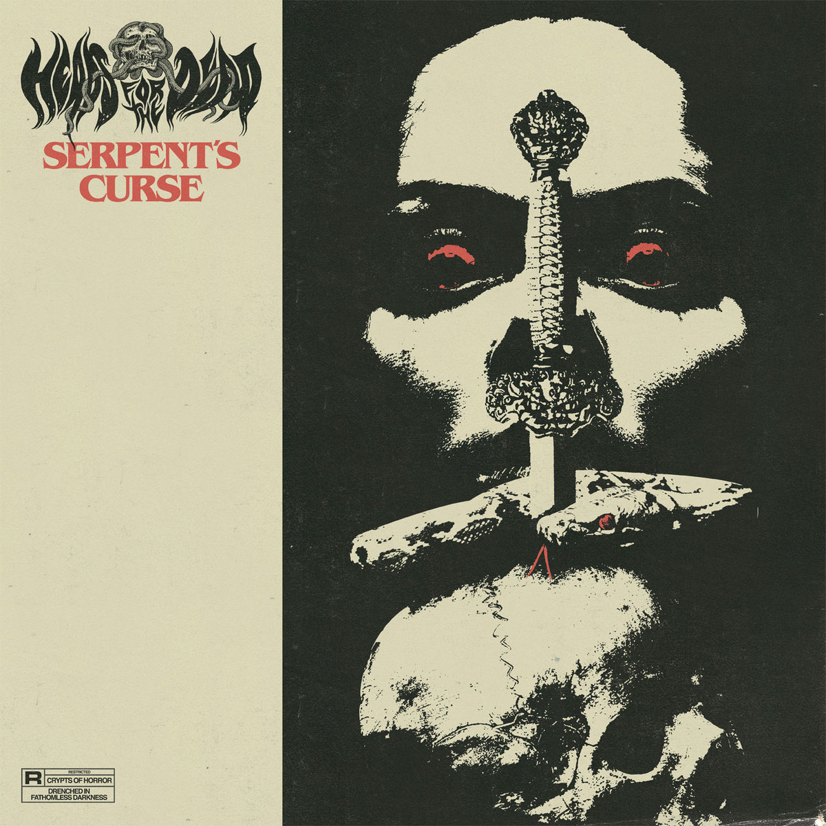 serpent's curse by heads for the dead