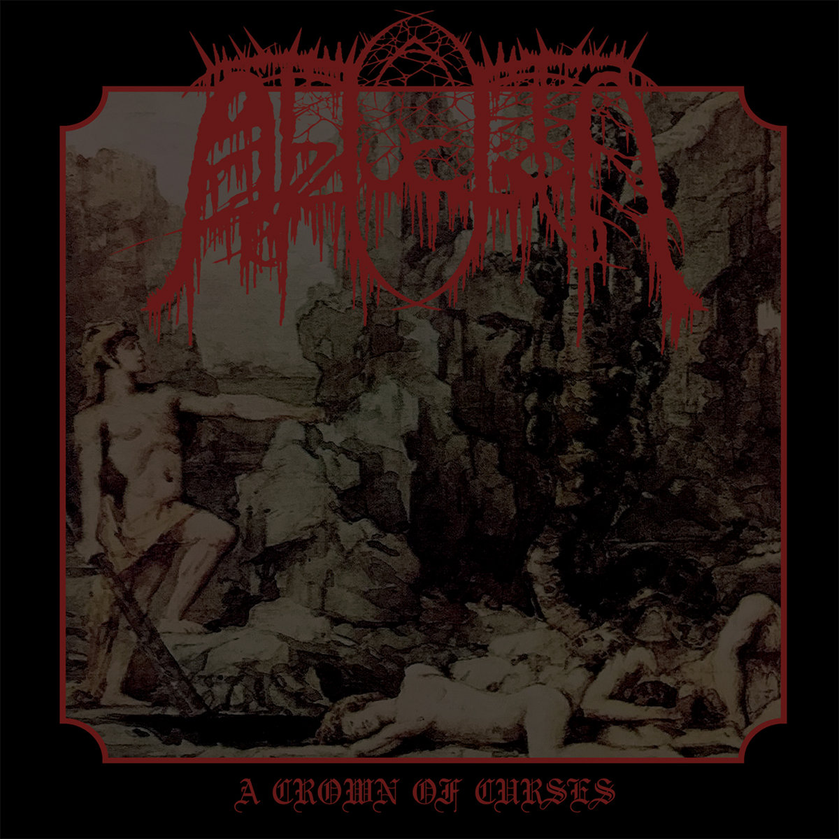8. A Crown Of Curses by Abduction - Continuing in the same vein of atmospheric agony and black metal voids of oblivion, except we're taking the 2-piece band down to ONE, with Crown of Curses by Abduction. Yes, Abduction is a UK-Based, solo artist, black metal project… and it's absolutely killer. Released by the great Death Kvlt Productions, a UK underground record label specializing in black metal cassettes and obscure, evil, releases such as this. Crown of Curses is a devilishly hypnotic trip into the realms beyond our own, and the sounds generated by just one man are beyond impressive on here as it sounds like an army of demons conjured it. Also, it rules.