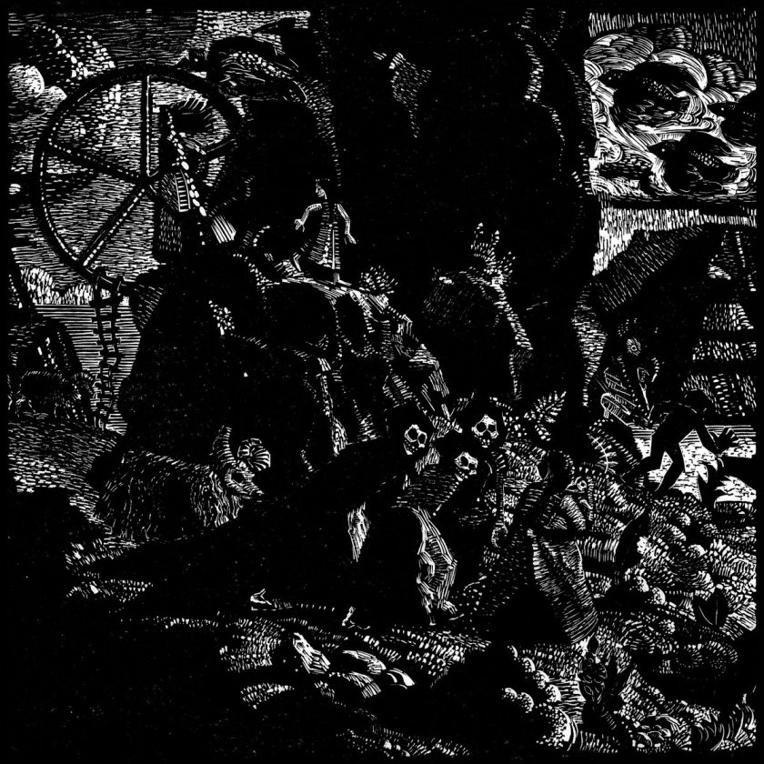4. Svartmálm by Svartmálm - I know, there's tons of black metal on here, and that's something I wasn't even expecting while compiling this list. But, this one, is by far the best and most impressive, unique, and insane listening experience I've had all year. From the Faroe Islands, Svartmalm, isolated in their own cold and dark world have composed a record that is simply out of this world. Pure atmospheric, haunting, evil, poetry. Every time I bring myself to listen to it again, I'm more blown away than I was the first time. Truly epic.