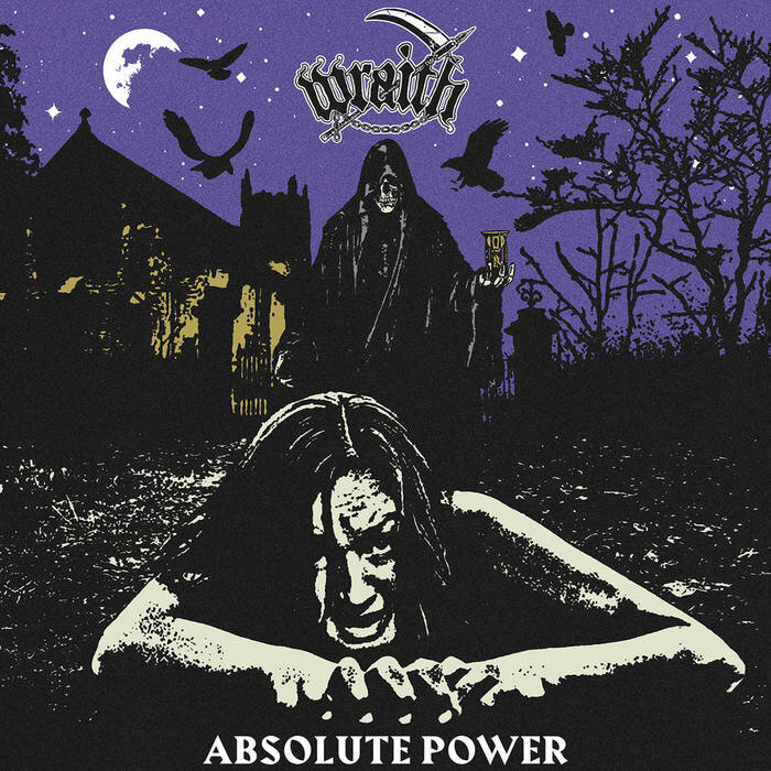 "Absolute Power by Wraith - Thrash! Sin! Speed! Death! Riffs! Blood! Power!! Just when I found myself scratching my head, sitting in the corner of my cold dark crypt, next to a pile of blood and weights thinking; ""damn, I haven't really heard a new THRASH record in quite a while that I was crazy about…"" the rats in the walls squealed & the bats fluttered about as Indianapolis's Wraith to have parted the skies or, uh, gates of hell to deliver the metal record so perfect for Death Comes Lifting's aforementioned crypt it seems as if it was made for it. Allow me to explain, freaks.. let's take a look.. first of all, the have employed the use an old school 70's horror exploitation - esque artwork hauntingly fitting for the Halloween season. It features Death Himself (our friend The Reaper) stalking behind an unfortunate victim guaranteed to NOT crawl herself to safety; amongst a haunted house, a dead vegetation, and ravens. Check one. The title? ABSOLUTE POWER. Could it be any more to the point and bad ass (which directly translates to how their music sounds)? No. Check TWO. This had more going for before Wraith's fist lick ever materialized itself into my cranium. Finally, when I had spun the thing, the opening riff hit me like an actual SLEDGEHAMMER and reminded me what thrash metal was really supposed to be. Finally, yet above all, I happen to take a gingerly 'ol glance down the tracklist to see DEATH COMES RIPPING as the record's finale. Are. You. Fucking. Kidding ME? NOW, it is actual go time. So, if this record wasn't made for me, I don't know what is. And I take that proudly as a shot of acid blood to the face that they provide.I must admit, though, thrash is not, nor has it ever been, my preferred flavor of metal. That belongs to old school death; BUT I suppose, THAT would never exist if it wasn't for thrash, punk, hardcore, etc.. being as they predate OSDM by quite a few records. For the sake of argument or more so this review doesn't go off on a weird tangent that I like to think I have proven myself BEYOND capable of, we'll just say my general opinion of thrash has been: there's Slayer. Then there's everybody else. End opinion. Alas, that may not be the healthiest open-minded perspective of all time or like that of which I have with most other genres, but so be it. Slayer is probably my favorite pure metal band of all time (crazy, underground, edgy, I know.. right??) So maybe that's why it gets a little boring and/or whatever for me listening to most thrash metal, especially the newer shit. Sure, bands like Municipal Waste, Toxic Holocaust, BAT, Hatchet, and the likes are bands worthy of praise but nothing I'd decide to bend over backwards in a graveyard for. The legends like Testament, Exodus, Kreator, and I'll bore you if I keep going, are obviously awesome, BUT THEY AIN'T SLAYER. Enter: The realm of Blackened Thrash Metal. This is what really does it for me personally in terms of thrash, as that little extra shot of satanic death metal influence expands the genre into it was intended to be. It makes sense when you think about how many true black metal bands burst from the unholy loins of the thrash metal greats. So, when the more extreme blackened thrash began to snake its fangs into the world, it's a glorious full-circle feeling of high energy and headbanging. I have always considered Skeletonwitch to be among the cream of the crop, as well as one of my personal favorite bands, but they just aint' what they used to be (for better or for worse) these days. With the throne left empty (at least in my opinion), I lost almost complete touch with the thrash world… until the Almighty WRAITH have decided to claim the throne as their own.Coming in hot off the rails of hell with ""Devil's Hour"" the opening track that cranks the amps, the tempo, and the horror up to 13; provides not only a lesson in the riff, but resurrects the blackened thrash vocal style to the way it has been intended. ""Your savior.. IS FINALLY GONE!!"" I am not aware specifically to whom vocalist & six string sorcerer Matt Sokol is relegating this information , but my savior is alive and well within the grooves of Absolute Power. As the title suggest, the tone of this record is very much, well, powerful. Their mighty sound is definitely not too clean but definitely not too polished, either; sure to not lose interests of the purists and the black metal fanatics alike. This is truly a balanced sounding record, I mean, if your idea of balanced is the tempo akin to demonic werewolves bursting from the seams of hell complied with throat-shredding vocal tone. It has a crushing yet refined sound which gives off the early Morbid Angel vibe draped with a modern Goatwhore-like precision & speed, with of course with the blood of Slayer fueling the faith-incinerating fire. Only embellished with a few grooves and absolutely razor sharp bass propelled tunes; Wraith retrain their haunting, cruel, dark, vibe without sacrificing any pure metal for atmosphere. In fact, I would say it has atmosphere by the lack of it! A conundrum, perhaps, yet the true nature of the songs lie within their devilish delivery true to horror punk and thrash roots; as is reflected in tracks such as ""The Curse"" and of course the tribute, ""Death Comes Ripping.""And a-ripping-it-fucking DOES as this is EASILY the best rendition of the tune to my knowledge; AND maybe.. juuust maybe.. the best Misfits cover of all time. YES. I SAID IT. I mean, we all know there are an inappropriate amount of Misfit covers out there so if you're gonna do it, you better fucking DO IT. THEY DID IT. I credit much of this tune to the percussion as the hybrid metal drum style really gives this punk song the extra push and edge it needed to soar into infinite death territory. That's a good thing, mind you. I don't wish to take away from their original material, though, as their is more than enough master metal songwriting crammed into this hardly half hour plague of death that most bands don't pull off in 2 records. Not to mention, a ludicrous amount of dynamic power channeled through a mere 3-piece band. The unholy trinity of Wraith must have some black magic like chemistry going on between them as it's undoubtedly refreshing to hear a record invoking such horrifying vibes & grim atmosphere with quick songs and a short runtime overall. Going back to my point on atmosphere, as it seems to be a bit of a trend in metal today with 15 minute plus compositions and such; I find it rather awesome that Wraith can pull off just as much with a hell (no pun intended) of a lot less. As far as I'm concerned, that is just all the more testament to their songwriting ability while not trying anything to be something that they are not. They are perfect blackened thrash metal and it should be left at that! Zero pretentiousness. Zero bullshit. Just straight to the bone, American Thrash Metal (motherfucker). Since when did that get so complicated?Now, that may not be the most universal definition of ""a breath of fresh air"" as it is to me, but I say take a listen to ""Meaningless Planet"" and that shall serve as a fine rebuttal. Once again, powered by that brutal bass interlude (compliments to bass master Chris Petkus), it is a standout song of the record that will make you want to either change the path of nature or hurl yourself into it. Furthermore, ""Eyes of the Sacred Ram"" (which can eerily also be attributed to a Death Comes Lifting shirt design..) and ""Absolute Power"" and perfectly powerful skeleton shakers that showcase Wraith's ability to walk on the line of grind within their blend of blackened thrash metal punk. Hey, I like that. Blackened Thrash Metalpunk. Sounds as sweet as this album, Absolute Power, does. All love for this band as they reignited some fire within for thrash metal, as well as the enormous weight lifting potential this record shall provide. Hail Redefining Darkness for yet another stellar release that shall have the crypt shaking and screaming throughout the Halloween season. *cue lightning strikes and evil laughter*Rating: 5/5Gym Rating 13/5CHECK THEM OUT HERE:https://wraith-us.bandcamp.com/album/absolute-power"