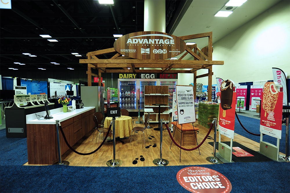 Marketing custom exhibit booth