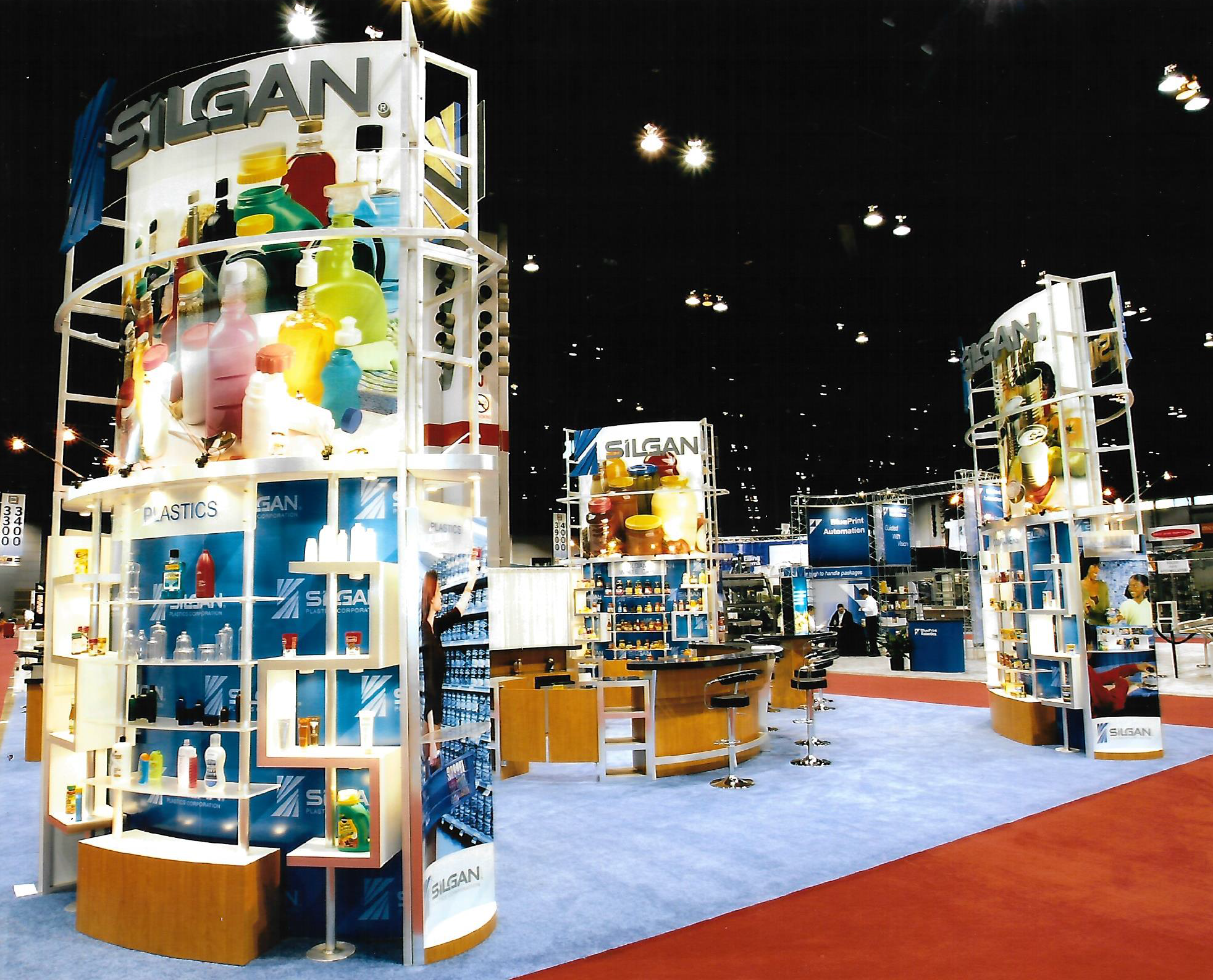 Custom display exhibit booth