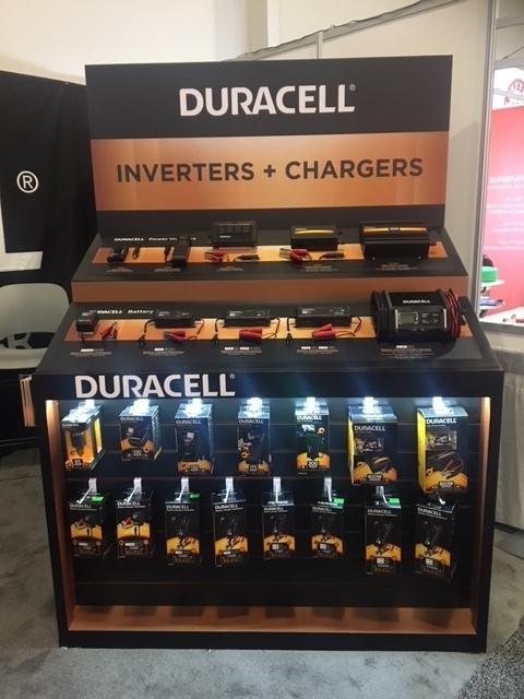 Trade show kiosk display