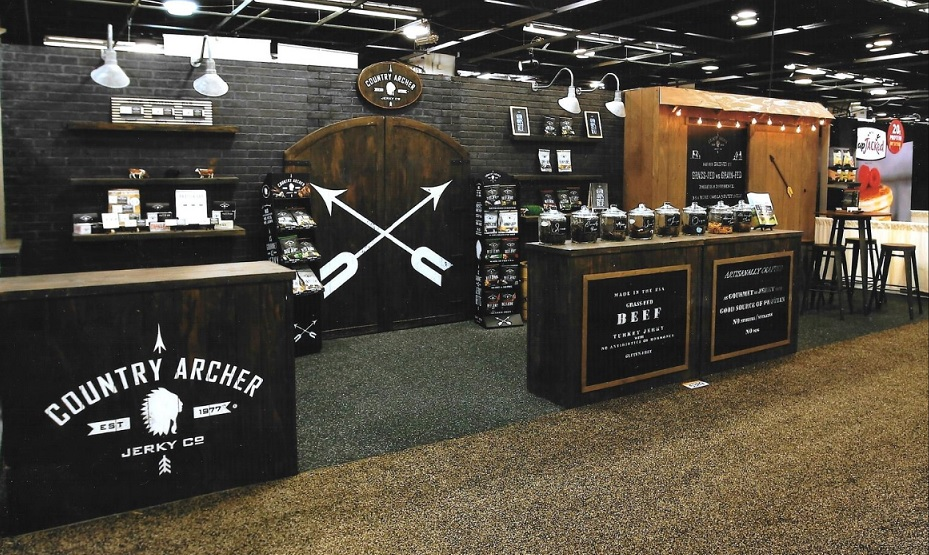 trade show booth counters
