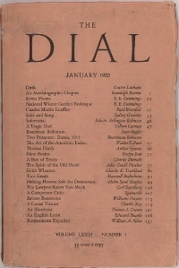 The Dial Jan 1920 First Issue.jpg