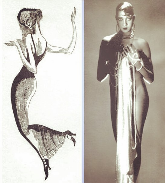 """Thayer and his close friend Adolf Dehn, noted American illustrator, spent time in edgy 1920s Vienna. There, they both romanced dancers – Dehn's liaison with Russian-born dancer and choreographer Mura Ziperovitch would lead to marriage. Mura Dehn was so inspired by Josephine Baker that she founded an all black dance company in New York and later produced the award-winning film """"The Spirit Moves"""" (1987) on African-American dance:  https://m.youtube.com/watch?v=WjguncQiw70 """"Mura - A Drawing"""" - The Dial, February 1925. #scofieldthayer #thedialmagazine #adolfdehn #muradehn #josephinebaker #moderndance #illustration #jazzdance #vienna #penandink #lesueurcounty"""
