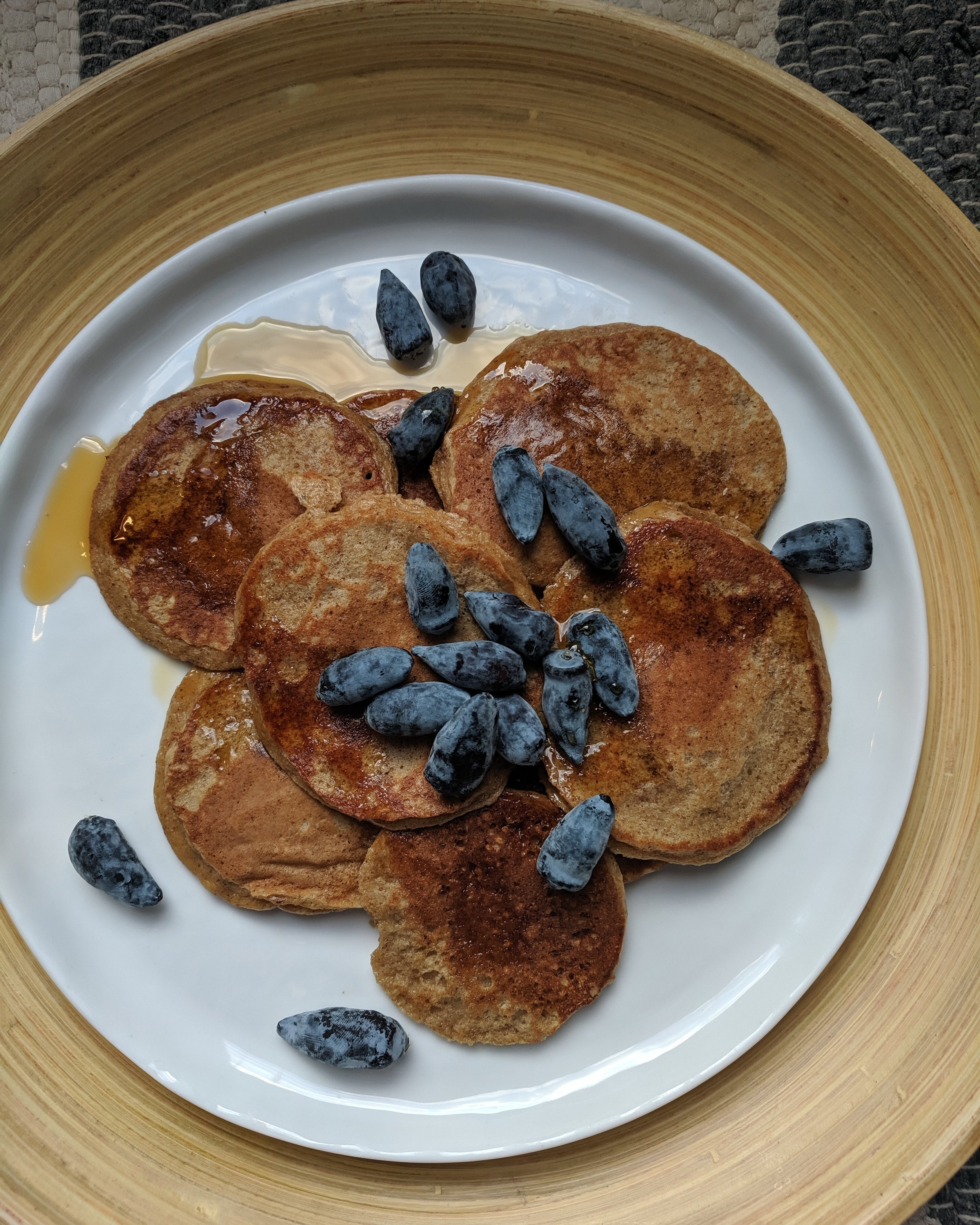 Wondering what is wrong with my blueberries? The answer is that they are not blueberries at all! They are haskap berries, one of my favourite treats this time of year!
