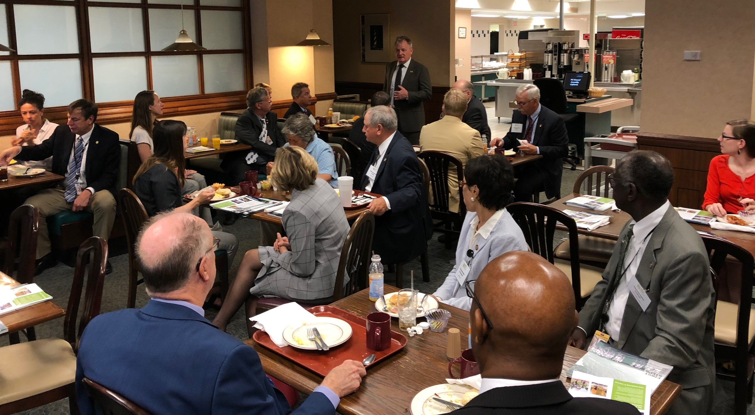 North Carolina Treasurer Dale R. Folwell, CPA shared his appreciation for our profession and a few words about how our industry interacts with the different levels of government.