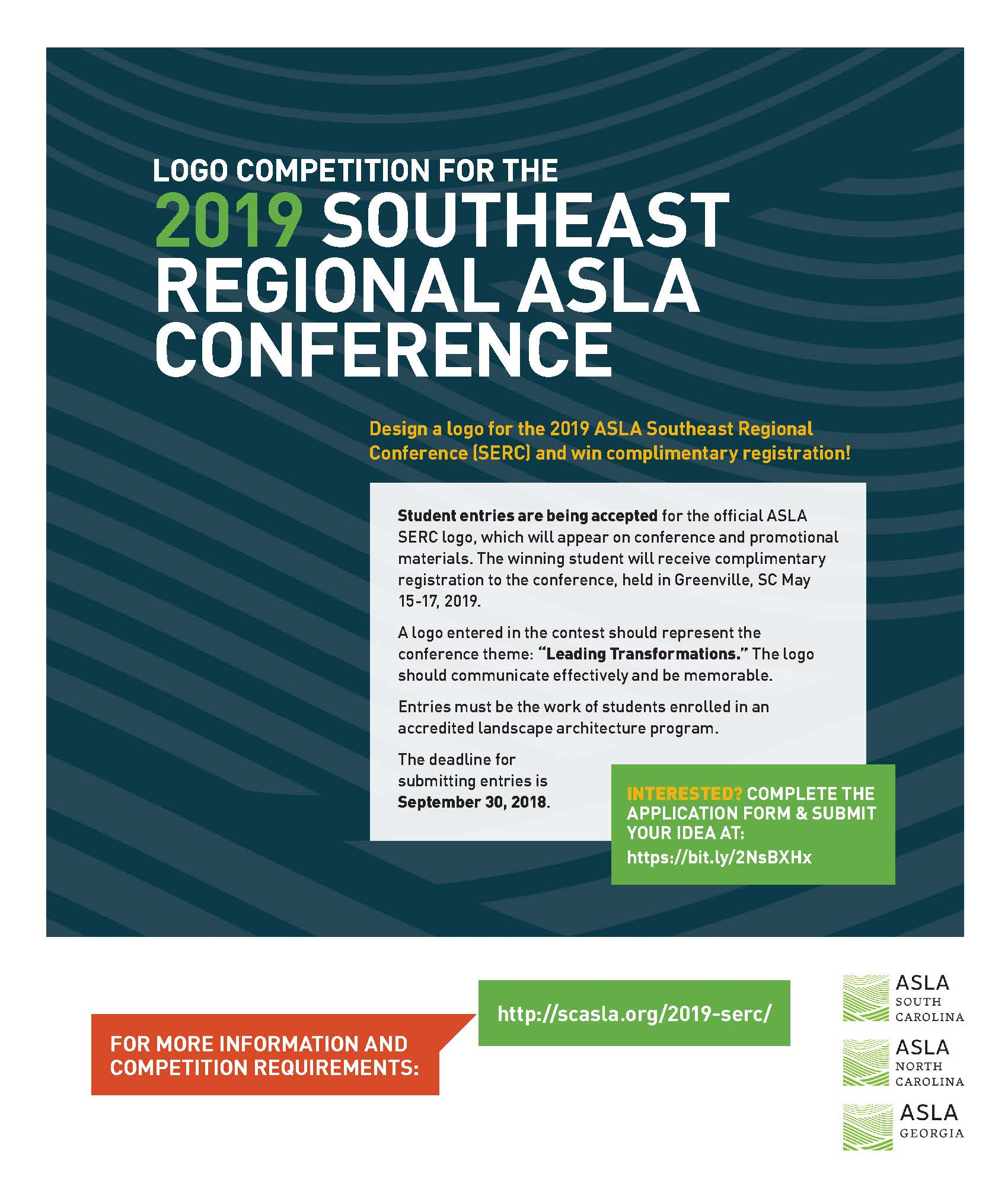 2019 Southeast Regional Conference Logo Competition — North Carolina