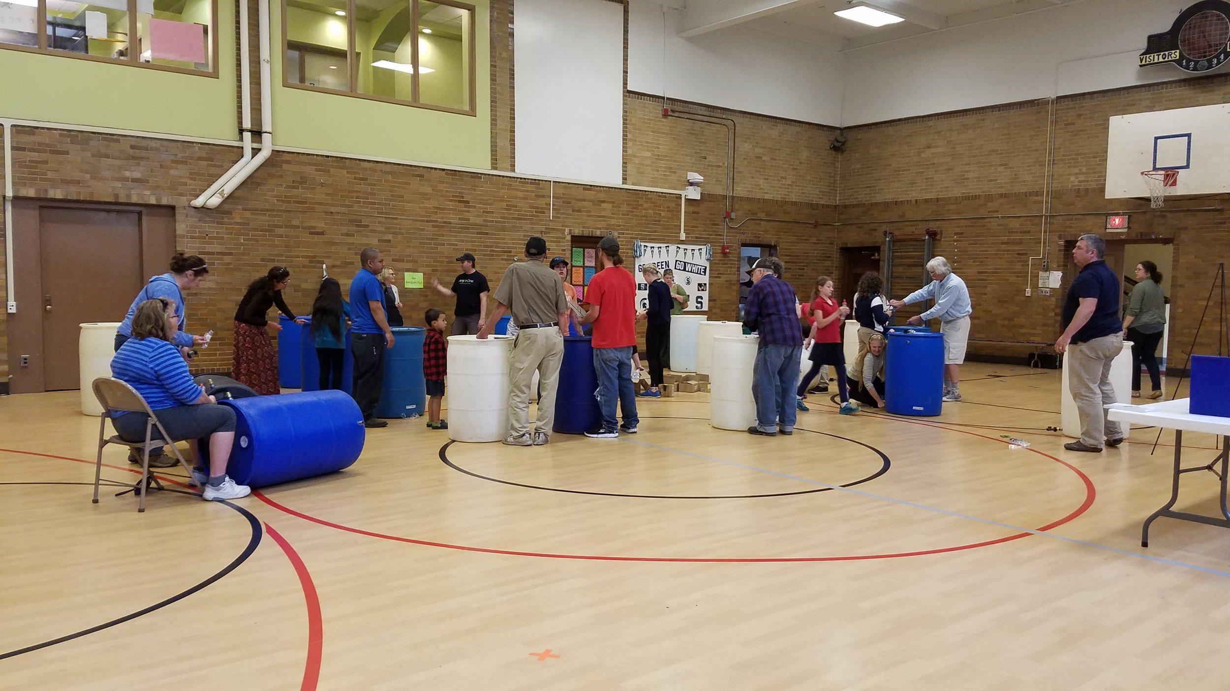 Rain Barrel Workshop at North Park Montessori