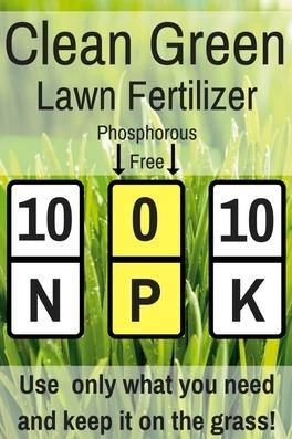 Clean Green Lawn Fertilizer N P K