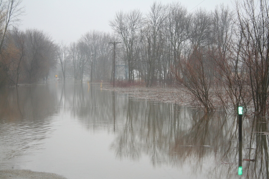 2013 Flood in Ottawa County. Image courtesy of Ottawa County Emergency Management.