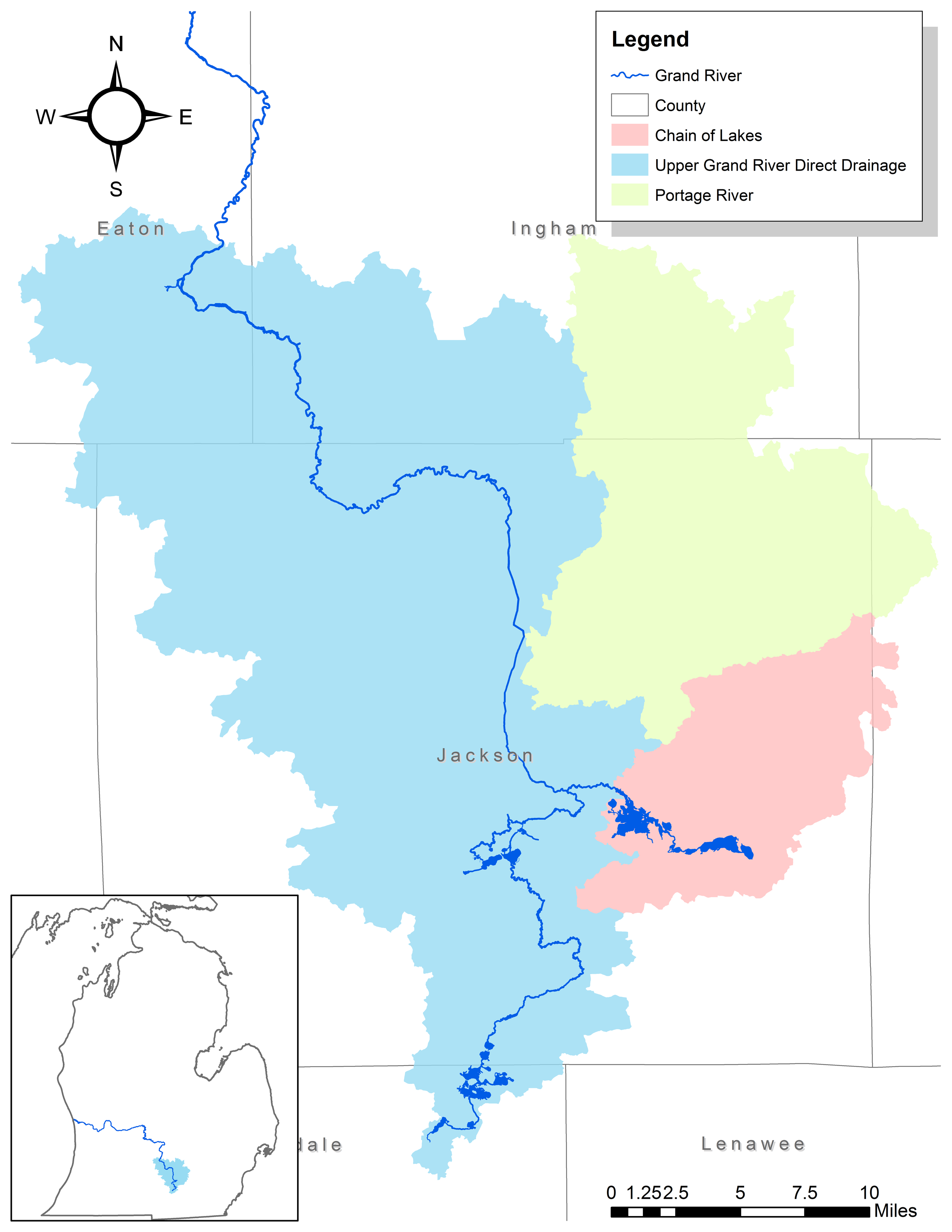 Lower Grand River Organization of Watersheds Grand River ...