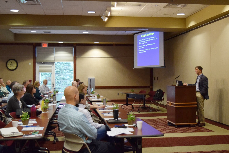 Keynote Speaker Dr. Al Steinman from GVSU Annis Water Resources Institute