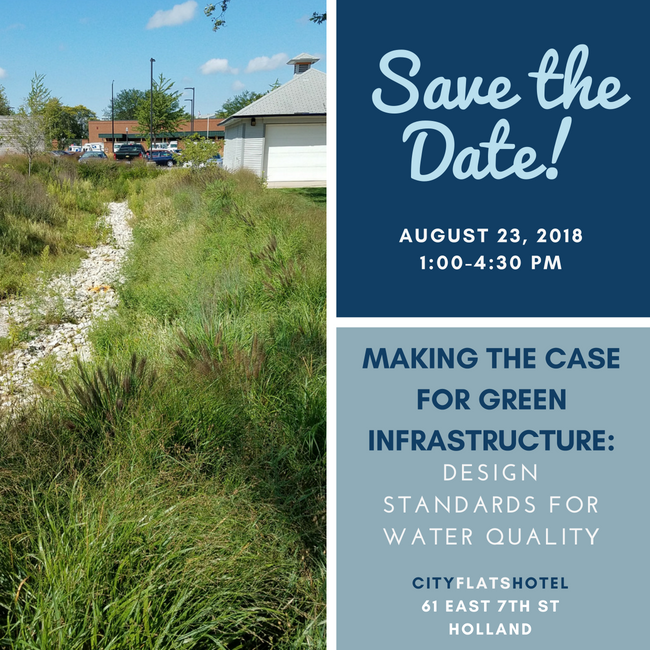 The MACC is hosting a Green Infrastructure seminar on August 23.