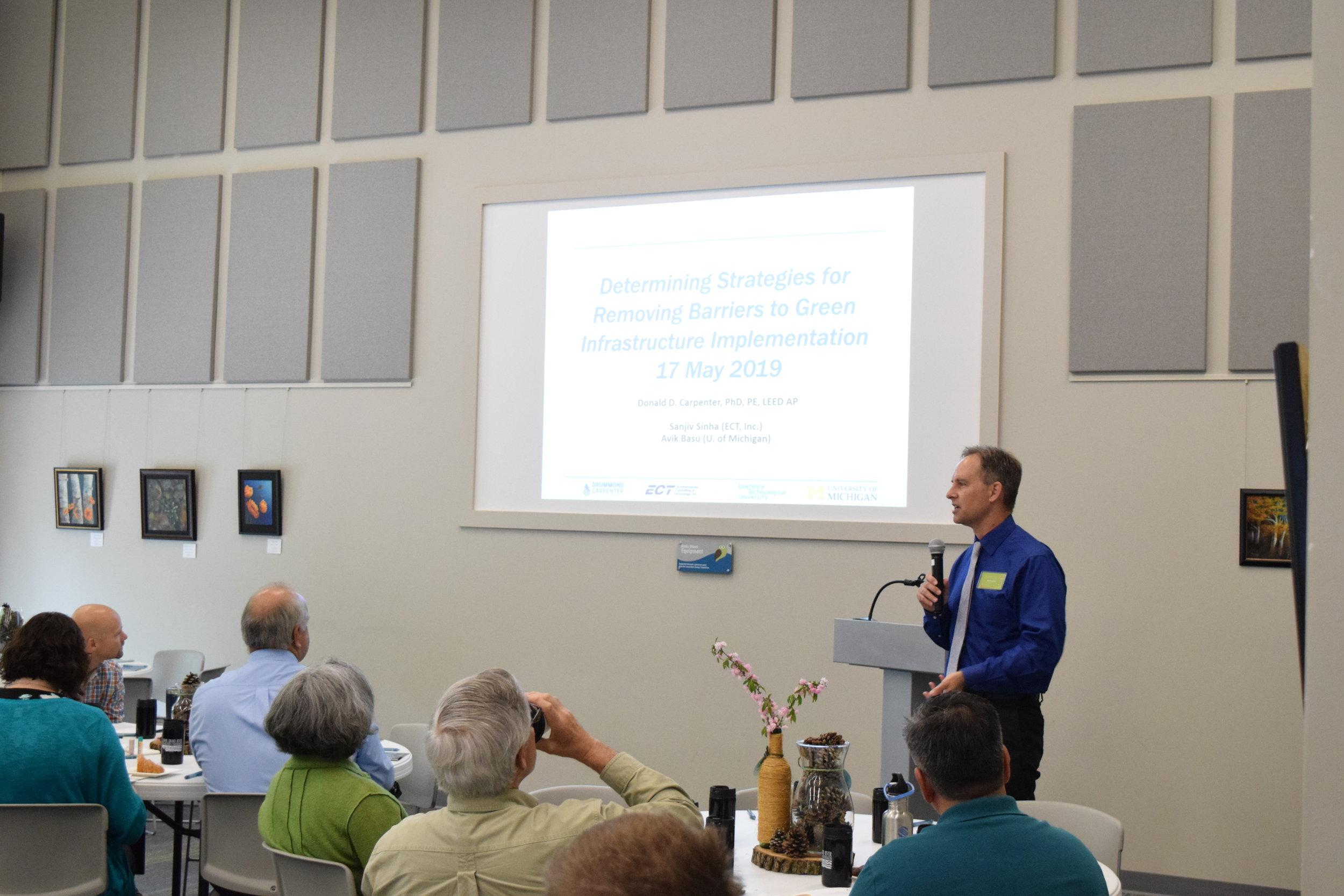 Keynote Speaker, Don Carpenter